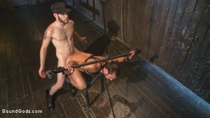 Photo number 13 from No Escape shot for Bound Gods on Kink.com. Featuring Wolf Hudson and DJ in hardcore BDSM & Fetish porn.