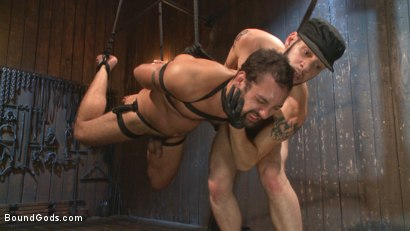 Photo number 10 from No Escape shot for Bound Gods on Kink.com. Featuring Wolf Hudson and DJ in hardcore BDSM & Fetish porn.