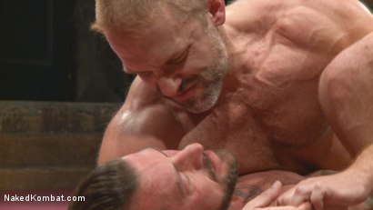 Photo number 8 from Muscle Matchup - Dirk Caber vs Hugh Hunter shot for Naked Kombat on Kink.com. Featuring Dirk Caber and Hugh Hunter in hardcore BDSM & Fetish porn.