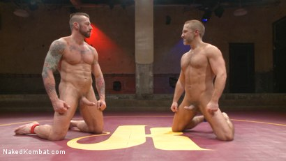 Photo number 20 from Muscle Matchup - Dirk Caber vs Hugh Hunter shot for Naked Kombat on Kink.com. Featuring Dirk Caber and Hugh Hunter in hardcore BDSM & Fetish porn.