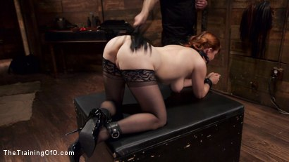 Photo number 14 from Anal Sex Slave Penny Pax: In Service shot for The Training Of O on Kink.com. Featuring John Strong and Penny Pax in hardcore BDSM & Fetish porn.
