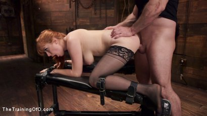 Photo number 13 from Anal Sex Slave Penny Pax: In Service shot for The Training Of O on Kink.com. Featuring John Strong and Penny Pax in hardcore BDSM & Fetish porn.