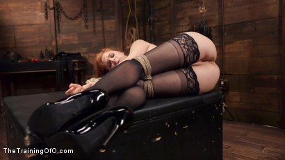Photo number 12 from Anal Sex Slave Penny Pax: In Service shot for The Training Of O on Kink.com. Featuring John Strong and Penny Pax in hardcore BDSM & Fetish porn.