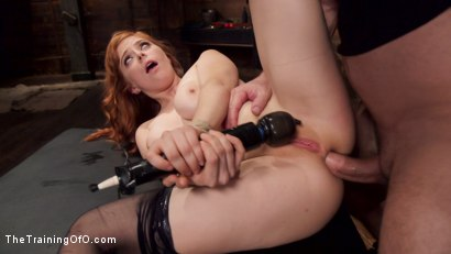 Photo number 7 from Anal Sex Slave Penny Pax: In Service shot for The Training Of O on Kink.com. Featuring John Strong and Penny Pax in hardcore BDSM & Fetish porn.