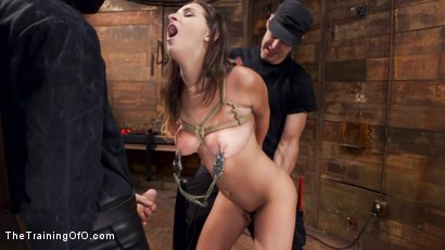 Photo number 1 from Ashley Adams' Slave Desires: Training Ashley Day One shot for The Training Of O on Kink.com. Featuring Ashley Adams and Owen Gray in hardcore BDSM & Fetish porn.