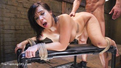 Photo number 11 from Training Big Tit Asian Anal Slave shot for The Training Of O on Kink.com. Featuring Kimmy Lee and Marco Banderas in hardcore BDSM & Fetish porn.