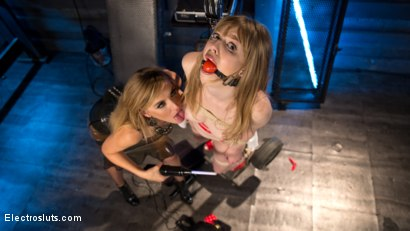 Photo number 18 from The Girl Next Door  shot for Electro Sluts on Kink.com. Featuring Dolly Leigh and Mona Wales in hardcore BDSM & Fetish porn.