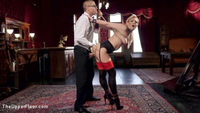 Photo number 1 from Nerdy College Girl Turned Depraved Anal Slave shot for The Upper Floor on Kink.com. Featuring Dahlia Sky, Xander Corvus and Nickey Huntsman in hardcore BDSM & Fetish porn.