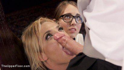 Photo number 11 from Nerdy College Girl Turned Depraved Anal Slave shot for The Upper Floor on Kink.com. Featuring Dahlia Sky, Xander Corvus and Nickey Huntsman in hardcore BDSM & Fetish porn.