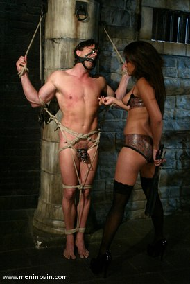 Photo number 1 from Annie Cruz and stevo shot for Men In Pain on Kink.com. Featuring stevo and Annie Cruz in hardcore BDSM & Fetish porn.