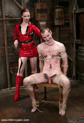 Photo number 1 from Claire Adams and Nomad shot for Men In Pain on Kink.com. Featuring Nomad and Claire Adams in hardcore BDSM & Fetish porn.