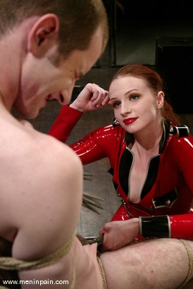 Photo number 3 from Claire Adams and Nomad shot for Men In Pain on Kink.com. Featuring Nomad and Claire Adams in hardcore BDSM & Fetish porn.