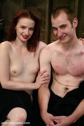 Photo number 15 from Claire Adams and Nomad shot for Men In Pain on Kink.com. Featuring Nomad and Claire Adams in hardcore BDSM & Fetish porn.