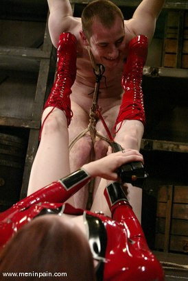 Photo number 5 from Claire Adams and Nomad shot for Men In Pain on Kink.com. Featuring Nomad and Claire Adams in hardcore BDSM & Fetish porn.