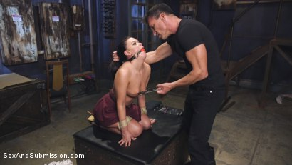 Photo number 2 from Roxy Raye's Extreme Anal Fisting Submission  shot for Sex And Submission on Kink.com. Featuring Roxy Raye and Marco Banderas in hardcore BDSM & Fetish porn.