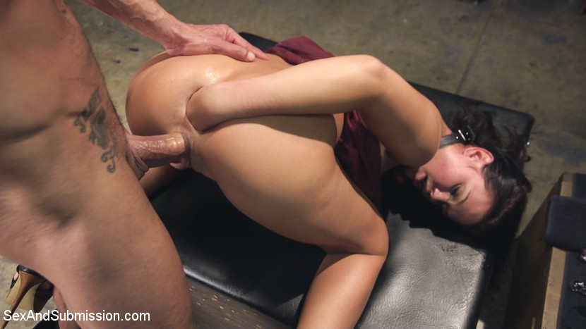 Lauren Phillips Anal Bondage