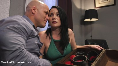 Photo number 1 from The Shy Girl's Anal Submission shot for Sex And Submission on Kink.com. Featuring Derrick Pierce and Veruca James in hardcore BDSM & Fetish porn.