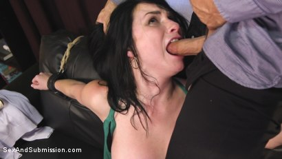 Photo number 7 from The Shy Girl's Anal Submission shot for Sex And Submission on Kink.com. Featuring Derrick Pierce and Veruca James in hardcore BDSM & Fetish porn.