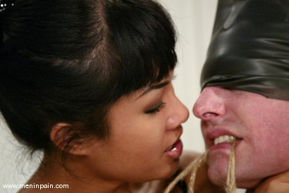Photo number 5 from Judas and DragonLily shot for Men In Pain on Kink.com. Featuring Judass and DragonLily in hardcore BDSM & Fetish porn.