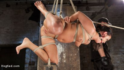Photo number 10 from Devastating Anal Fisting in Brutal Bondage shot for Hogtied on Kink.com. Featuring Roxy Raye and The Pope in hardcore BDSM & Fetish porn.