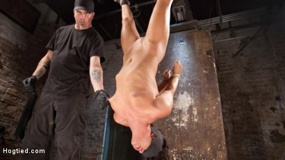 Photo number 7 from Devastating Anal Fisting in Brutal Bondage shot for Hogtied on Kink.com. Featuring Roxy Raye and The Pope in hardcore BDSM & Fetish porn.