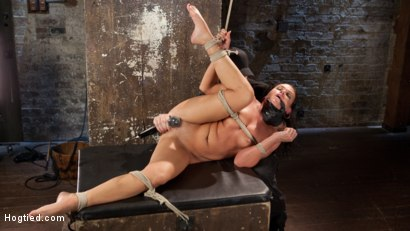 Photo number 2 from Devastating Anal Fisting in Brutal Bondage shot for Hogtied on Kink.com. Featuring Roxy Raye and The Pope in hardcore BDSM & Fetish porn.