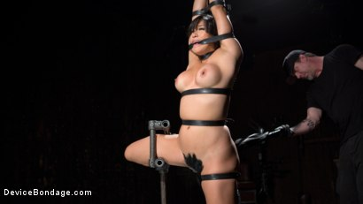 Photo number 2 from Asian Assault shot for Device Bondage on Kink.com. Featuring Mia Li and The Pope in hardcore BDSM & Fetish porn.