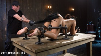 Photo number 7 from Asian Assault shot for Device Bondage on Kink.com. Featuring Mia Li and The Pope in hardcore BDSM & Fetish porn.