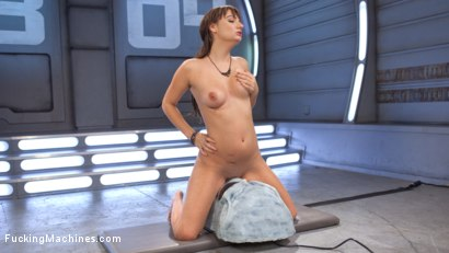 Photo number 13 from Big Natural Tits, First Timer, Machine Fucked Newbie!!! shot for fuckingmachines on Kink.com. Featuring Charlotte Cross in hardcore BDSM & Fetish porn.