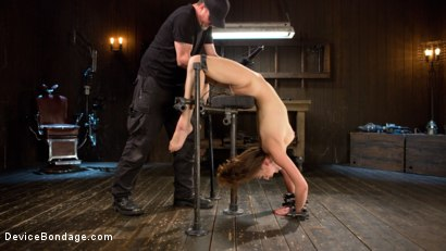 Photo number 17 from Filling The Void shot for Device Bondage on Kink.com. Featuring Lily LaBeau and The Pope in hardcore BDSM & Fetish porn.