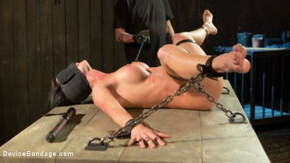 Photo number 11 from Fresh Meat - Virginia Tunnels - Testing Limits shot for Device Bondage on Kink.com. Featuring Virginia Tunnels and The Pope in hardcore BDSM & Fetish porn.
