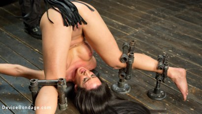 Photo number 5 from Fresh Meat - Virginia Tunnels - Testing Limits shot for Device Bondage on Kink.com. Featuring Virginia Tunnels and The Pope in hardcore BDSM & Fetish porn.