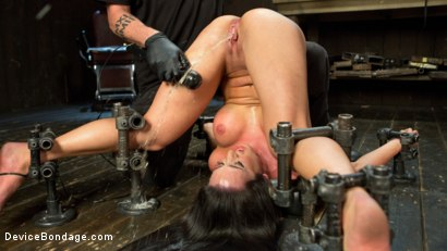 Photo number 8 from Fresh Meat - Virginia Tunnels - Testing Limits shot for Device Bondage on Kink.com. Featuring Virginia Tunnels and The Pope in hardcore BDSM & Fetish porn.