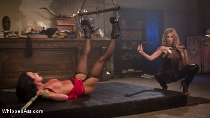 Photo number 13 from Madeline's New Slave Girl shot for Whipped Ass on Kink.com. Featuring Maitresse Madeline Marlowe  and Virginia Tunnels in hardcore BDSM & Fetish porn.
