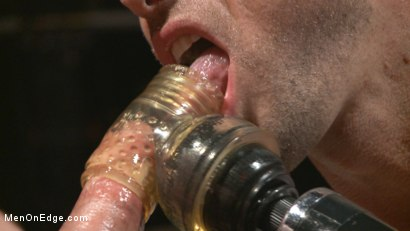 Photo number 11 from Out-Creeping the Horny Bartender shot for Men On Edge on Kink.com. Featuring Max Cameron in hardcore BDSM & Fetish porn.