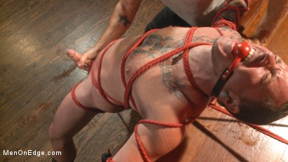Photo number 12 from Out-Creeping the Horny Bartender shot for Men On Edge on Kink.com. Featuring Max Cameron in hardcore BDSM & Fetish porn.