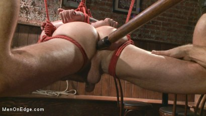 Photo number 7 from Out-Creeping the Horny Bartender shot for Men On Edge on Kink.com. Featuring Max Cameron in hardcore BDSM & Fetish porn.