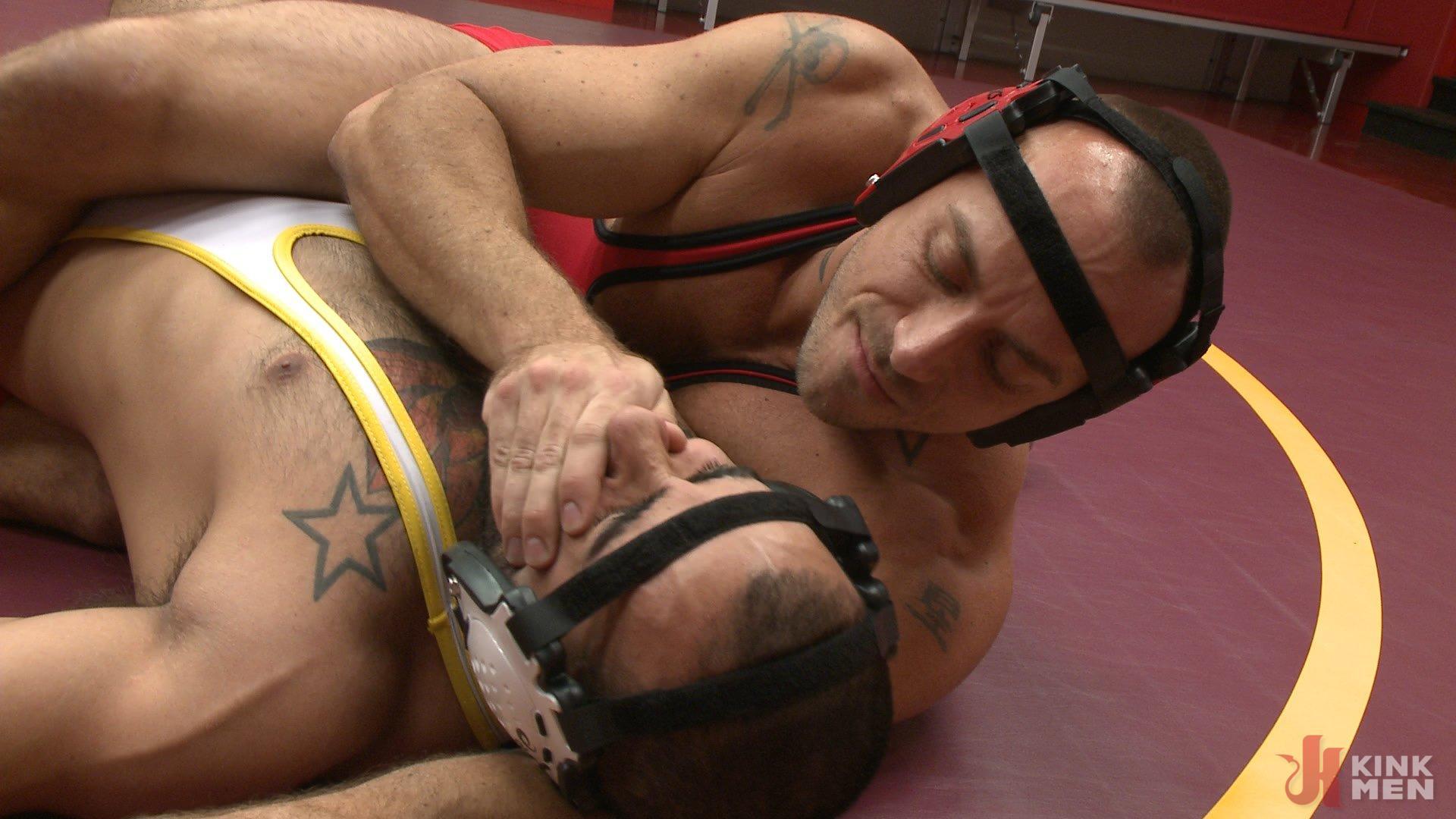 Photo number 2 from Rikk York gets slammed to the mat and edged shot for Men On Edge on Kink.com. Featuring Rikk York in hardcore BDSM & Fetish porn.