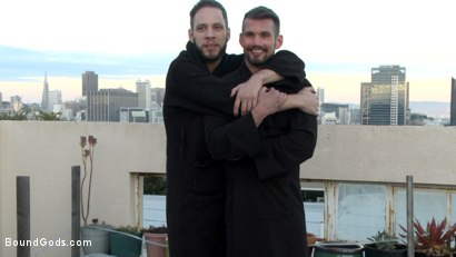 Photo number 15 from Hot Pursuit: Special Agent Chris Harder takes on Wolf Hudson shot for Bound Gods on Kink.com. Featuring Wolf Hudson and Chris Harder in hardcore BDSM & Fetish porn.