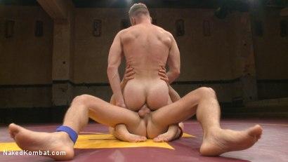Photo number 14 from Chris Burke vs. Connor Patricks shot for nakedkombat on Kink.com. Featuring Connor Patricks and Chris Burke in hardcore BDSM & Fetish porn.