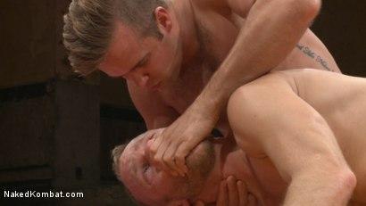 Photo number 8 from Chris Burke vs. Connor Patricks shot for nakedkombat on Kink.com. Featuring Connor Patricks and Chris Burke in hardcore BDSM & Fetish porn.