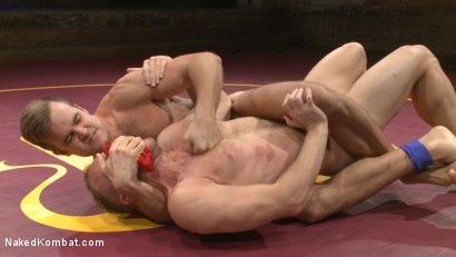 Photo number 2 from Chris Burke vs. Connor Patricks shot for nakedkombat on Kink.com. Featuring Connor Patricks and Chris Burke in hardcore BDSM & Fetish porn.