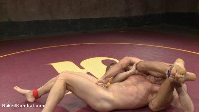 Photo number 4 from Chris Burke vs. Connor Patricks shot for nakedkombat on Kink.com. Featuring Connor Patricks and Chris Burke in hardcore BDSM & Fetish porn.