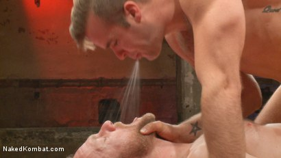 Photo number 13 from Chris Burke vs. Connor Patricks shot for Naked Kombat on Kink.com. Featuring Connor Patricks and Chris Burke in hardcore BDSM & Fetish porn.