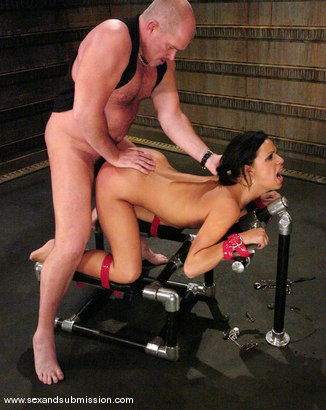 Photo number 6 from Mark Davis and Mia Bangg shot for Sex And Submission on Kink.com. Featuring Mark Davis and Mia Bangg in hardcore BDSM & Fetish porn.
