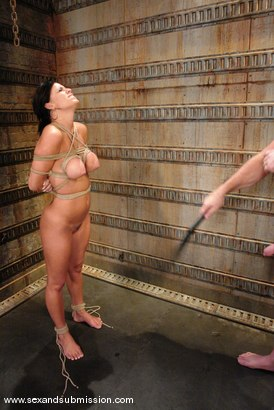 Photo number 8 from Mark Davis and Mia Bangg shot for Sex And Submission on Kink.com. Featuring Mark Davis and Mia Bangg in hardcore BDSM & Fetish porn.