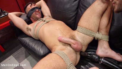 Photo number 4 from Shoplifter Gets Sexually Tormented for his Crime shot for Men On Edge on Kink.com. Featuring Alex Mason in hardcore BDSM & Fetish porn.