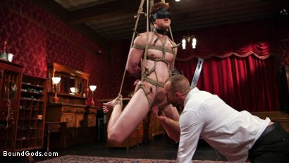 Photo number 7 from Scotty Zee's Submission  shot for Bound Gods on Kink.com. Featuring Scotty Zee and Jessie Colter in hardcore BDSM & Fetish porn.