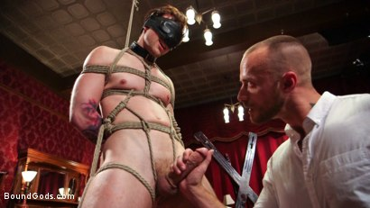 Photo number 6 from Scotty Zee's Submission  shot for Bound Gods on Kink.com. Featuring Scotty Zee and Jessie Colter in hardcore BDSM & Fetish porn.