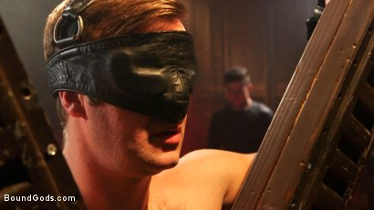 Photo number 1 from Connor Patricks at the mercy of Mr Ducati shot for Bound Gods on Kink.com. Featuring Trenton Ducati and Connor Patricks in hardcore BDSM & Fetish porn.